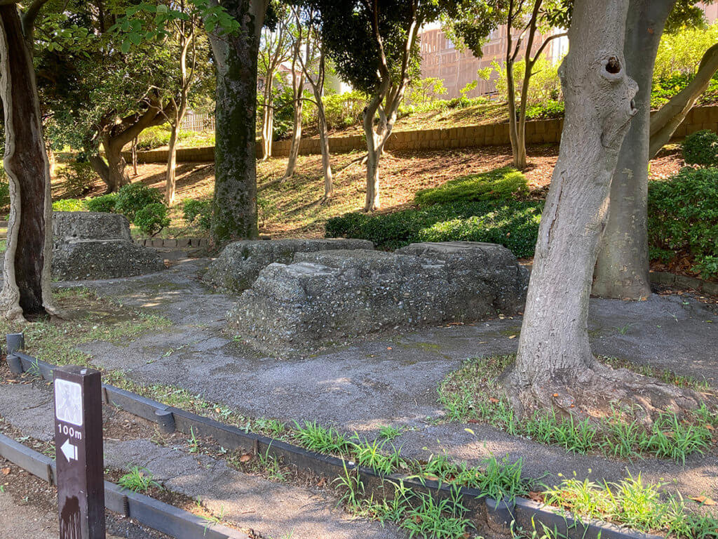 千葉公園 鉄道連隊の遺構