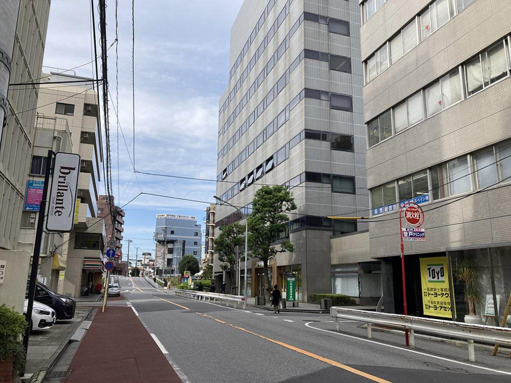 千葉駅西口周辺