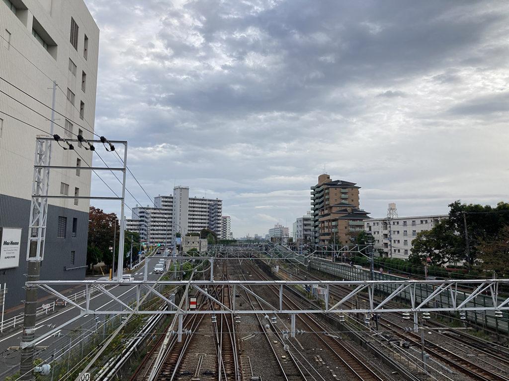 津田沼駅付近の住宅街