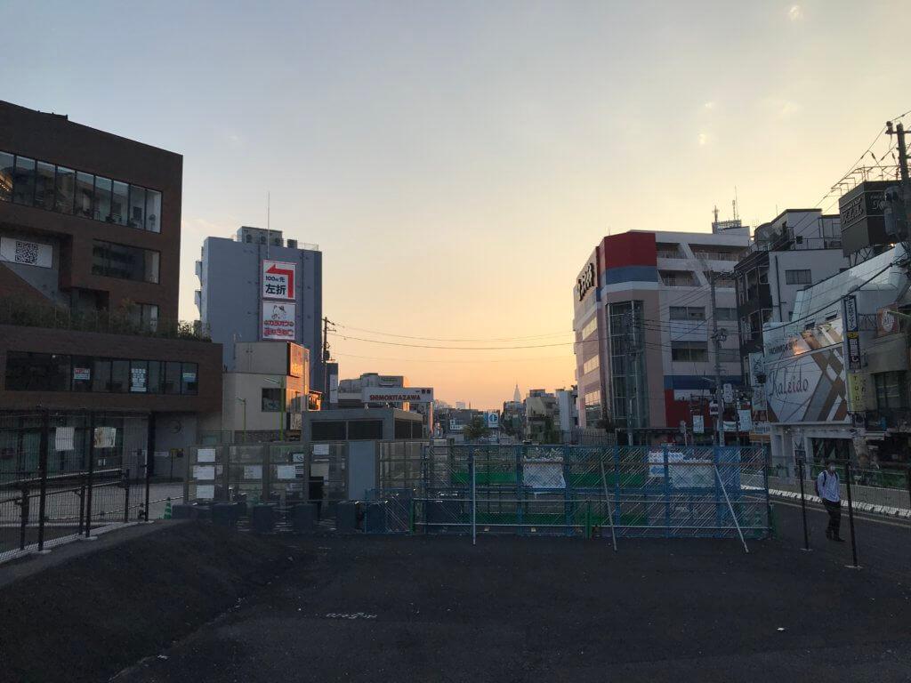 下北沢駅周辺 再開発地区