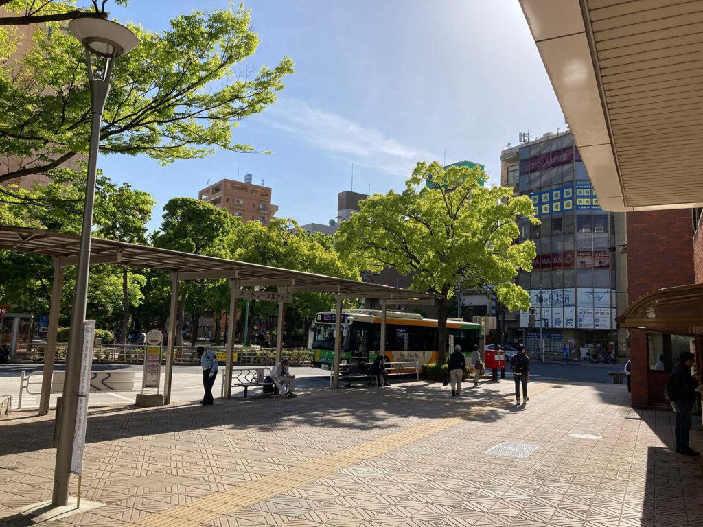 船堀駅南口ロータリー