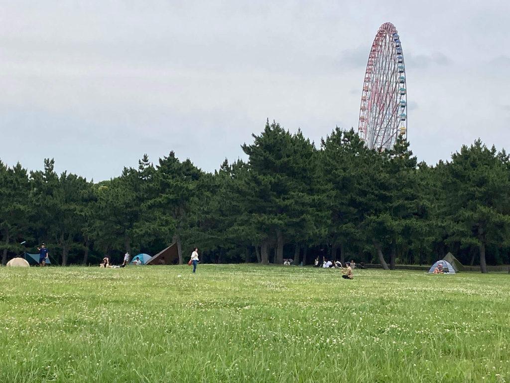 葛西臨海公園・汐風の広場