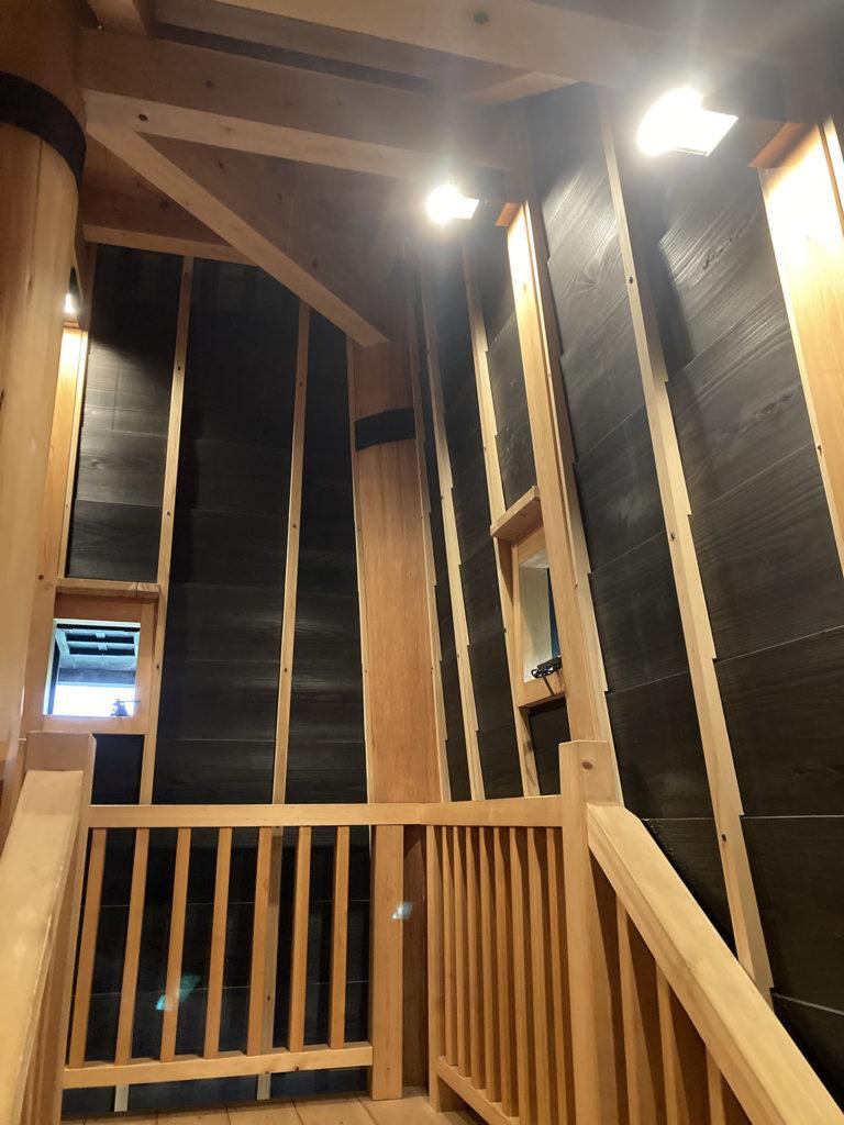 新川西 火の見櫓 内部
