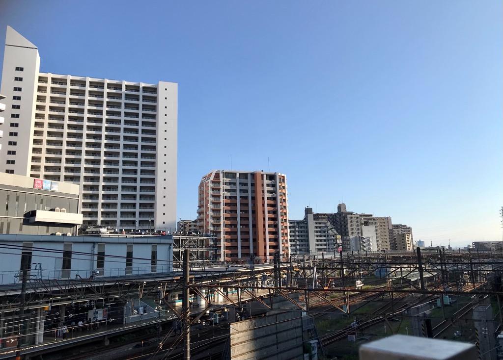 海老名駅前の様子